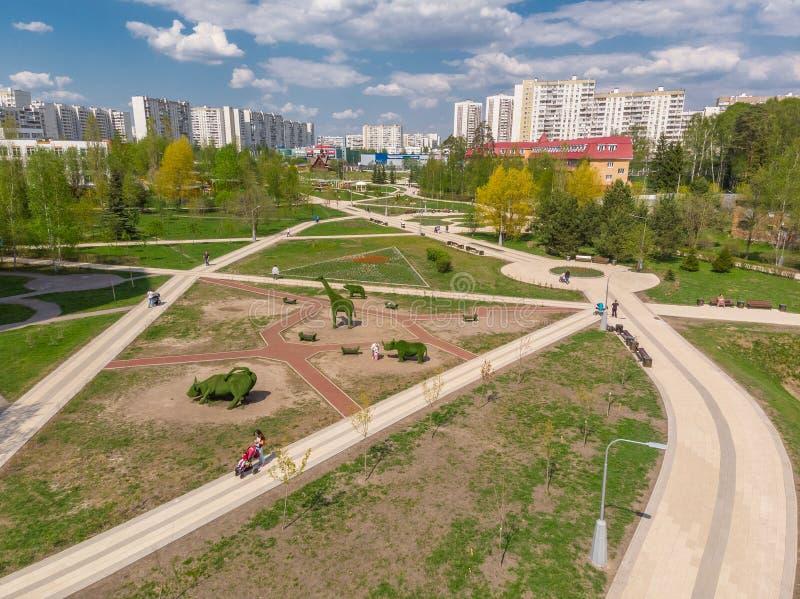 Moskou, Rusland - Mei 7 2019 E royalty-vrije stock afbeeldingen