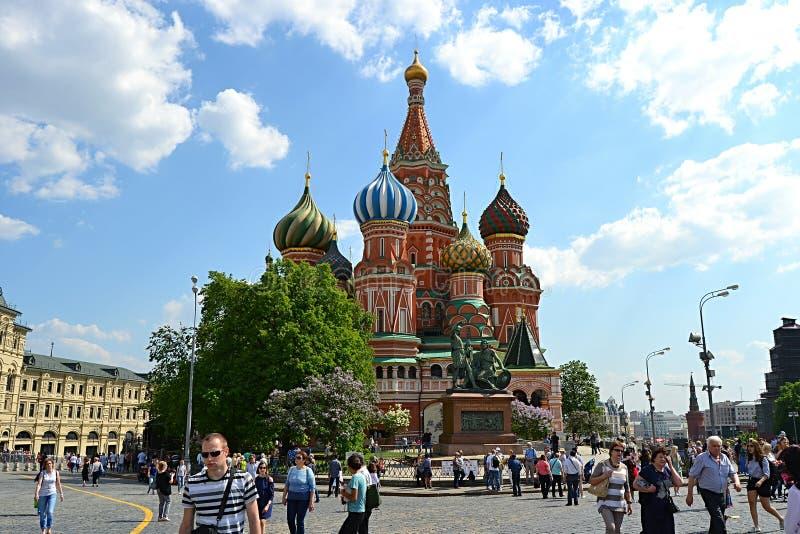 "Moskou, Rusland, stad, 2018, megapolis, het Rode Vierkant, КириГ и ÐœÐµÑ ""Ð ¾ Ð"" иР¹ royalty-vrije stock fotografie"