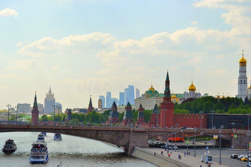 Moskou, Rusland, stad, 2018, megapolis, het Rode Vierkant, royalty-vrije stock foto's