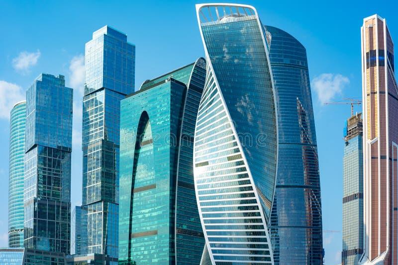 Moskou-stad Centraal administratief district, Presnensky-district, Moskou, Rusland 22 09 18 royalty-vrije stock foto's
