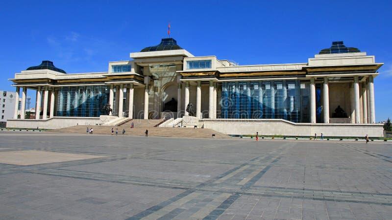 Moskou - Ulaanbaatar - Peking 2016 stock afbeelding
