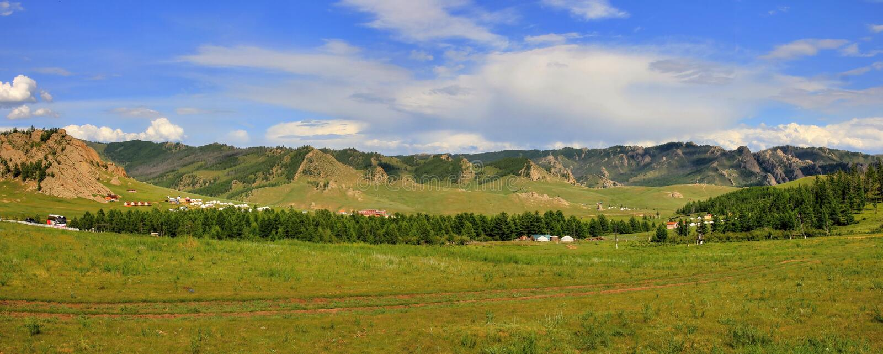 Moskou - Ulaanbaatar - Peking 2016 royalty-vrije stock foto's
