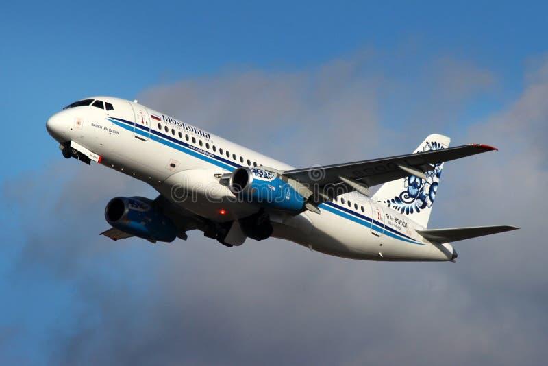 Moskovia Airlines foto de stock