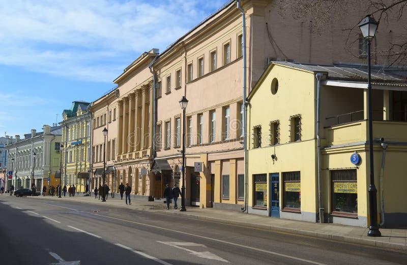 Moskva stadslandskap arkivbild