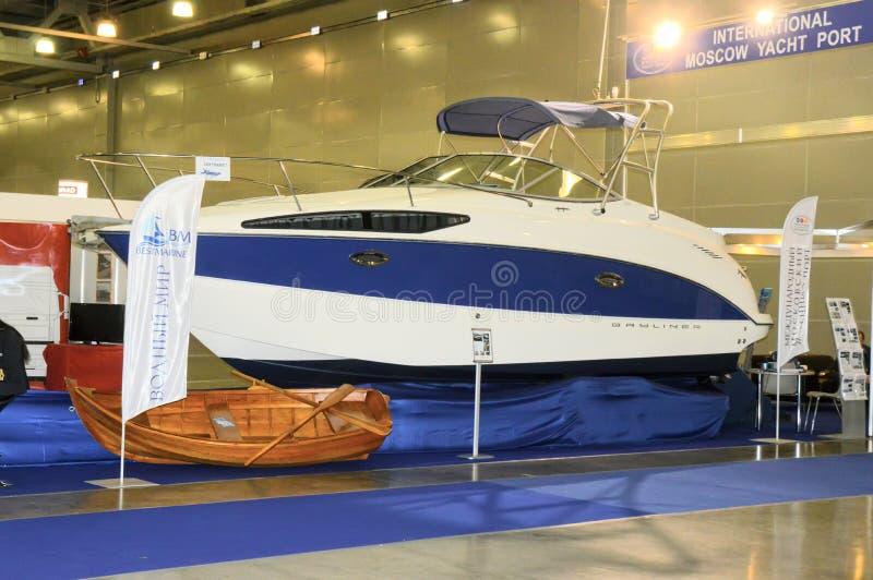 Moskvabåtmässa 2015 royaltyfria bilder