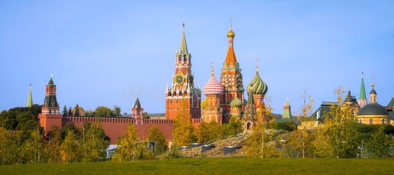 Moskvas arkitektur och synder royaltyfria foton