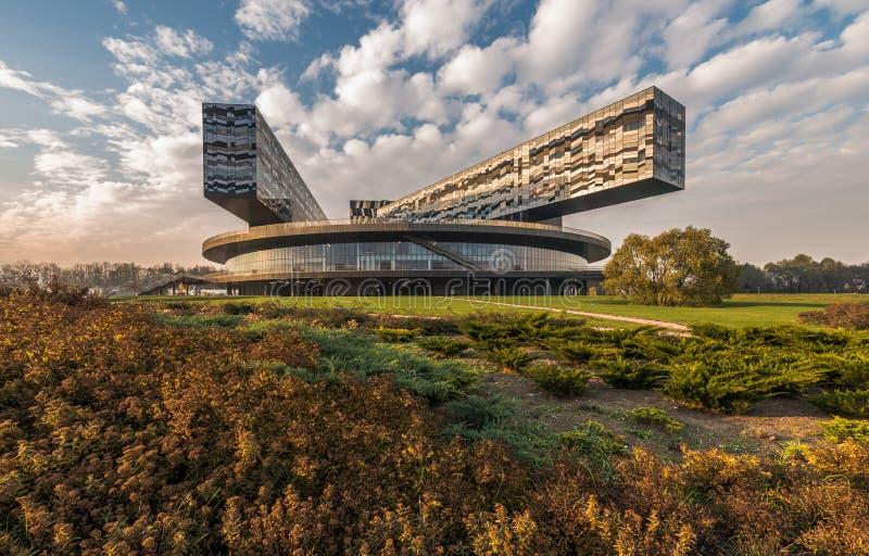 Moskvaskola av ledning SKOLKOVO arkivfoton