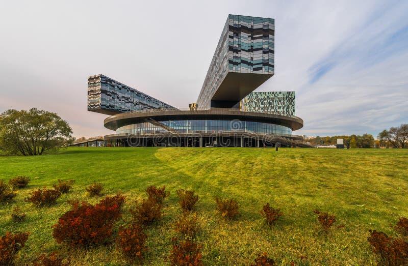 Moskvaskola av ledning SKOLKOVO fotografering för bildbyråer