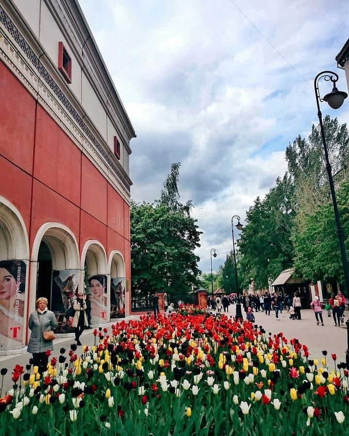 Moskvasommartid arkivbilder