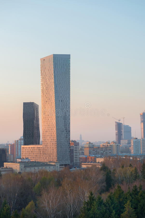 Moskvastad arkivfoton