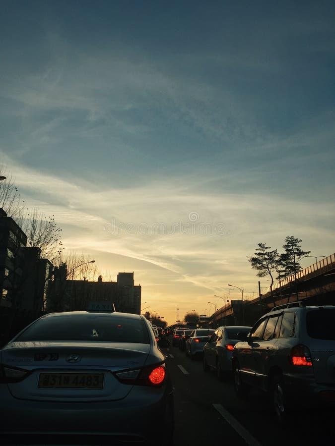 MoskvaVarvarka gata arkivbild