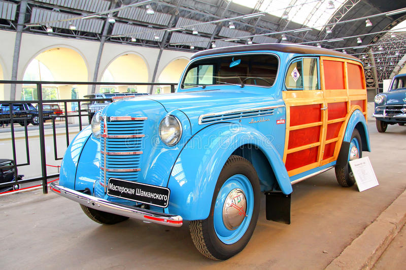 Moskvitch 401-422 royalty free stock image