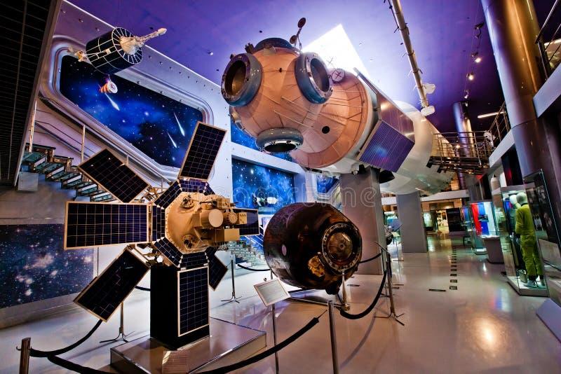 Moskwa Astronautyczny muzeum zdjęcie stock