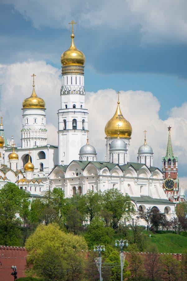 Moskwa dormitorium katedra obrazy royalty free