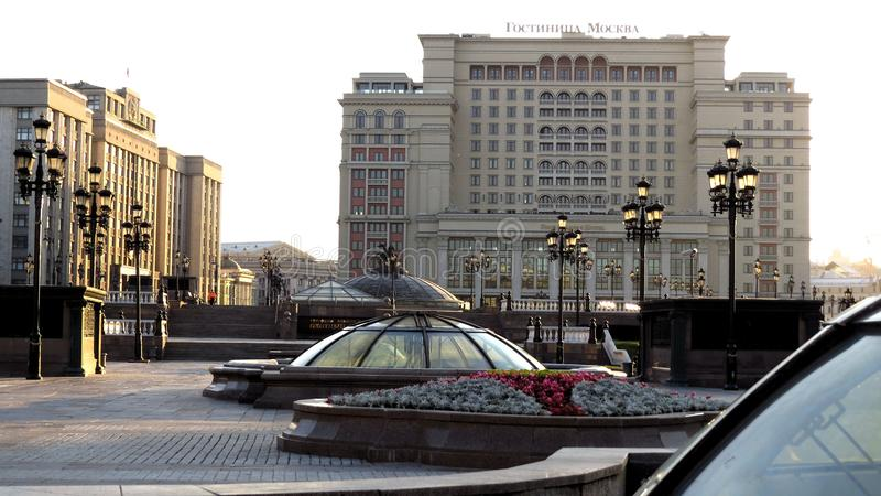MOSKWA, Hotelowy Moskva zdjęcia royalty free