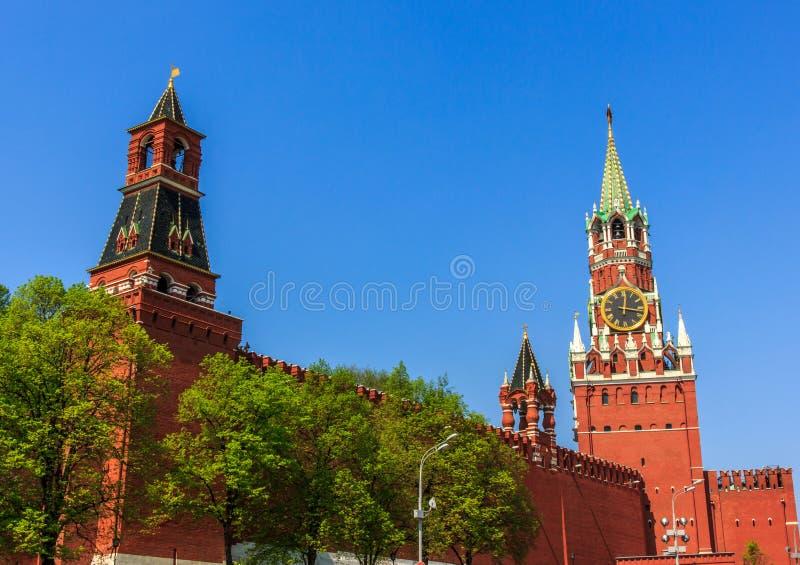Moskwa Kremlin obrazy royalty free