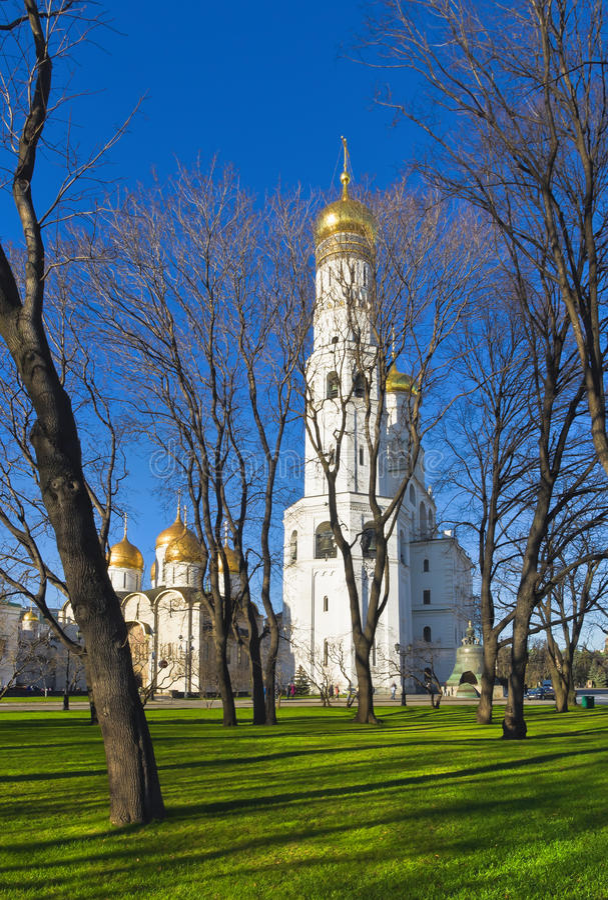 Moskwa Kremlin, Rosja fotografia royalty free