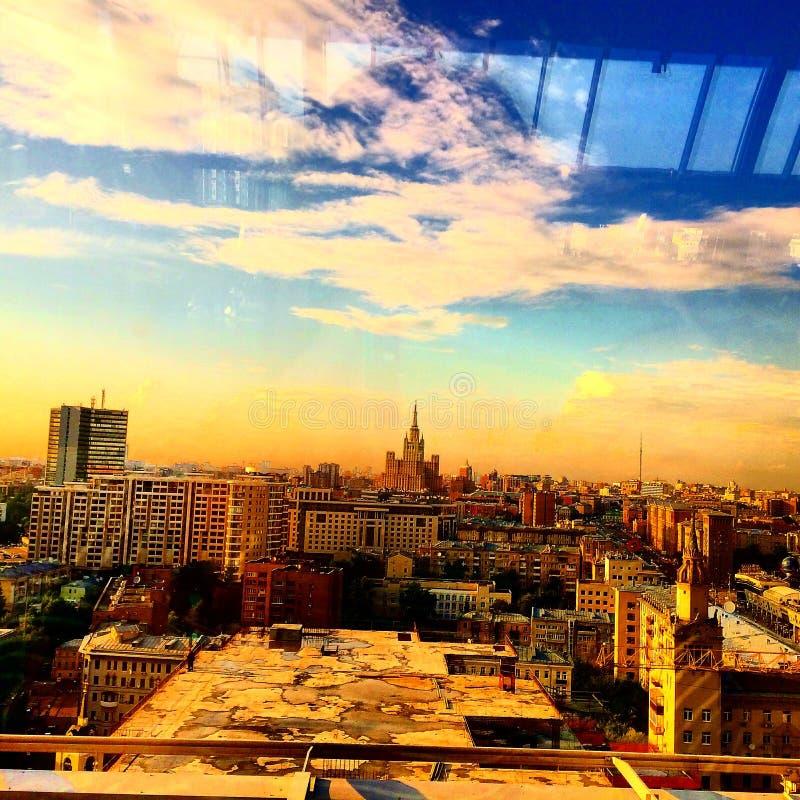 Moskwa przegląd zdjęcia stock