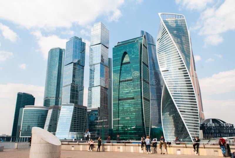 Moskwa, Rosja, 22 Moskwa Moskwa Kwietnia 2019 zawody międzynarodowi centrum biznesu zdjęcie stock