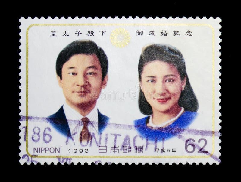 MOSKWA ROSJA, LISTOPAD, - 23, 2017: Znaczek drukujący w Japonia sho obrazy royalty free