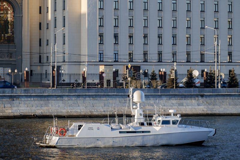 MOSKWA, ROSJA, Moskwa rzeka zdjęcia stock