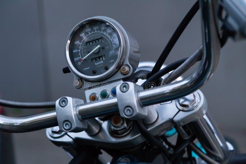 MOSKWA ROSJA, SIERPIEŃ, - 17, 2018: Motocykl Honda Ocienia Amerykańskiego Klasycznego wydanie zdjęcia stock