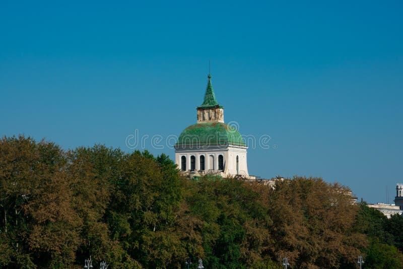 Moskwa sierocina lub znajdy domu kopuła zdjęcie royalty free