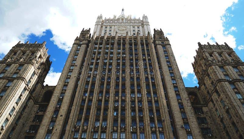 Moskwa stary budynek obrazy royalty free