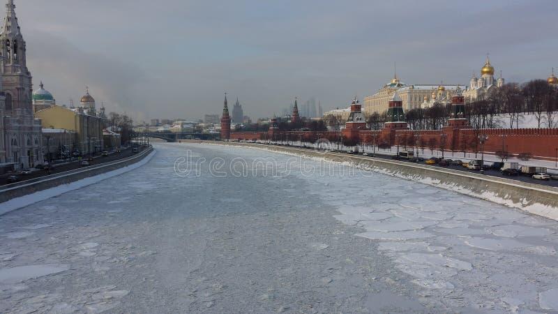 Moskwa zima obrazy stock