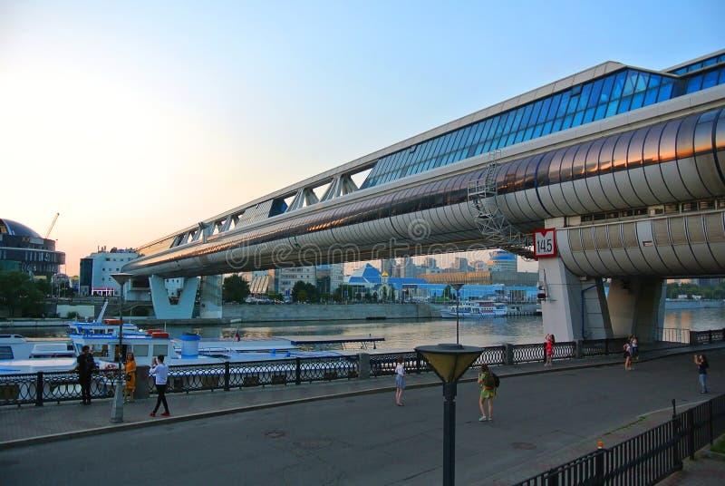 Moskwa zwyczajny skrzyżowanie na letnim dniu obrazy stock