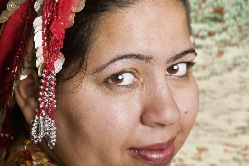 Moslemische Frau stockfotografie