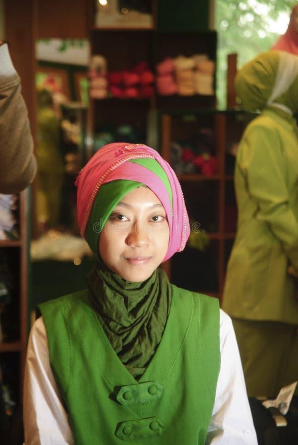 Moslemische Mode stockfoto