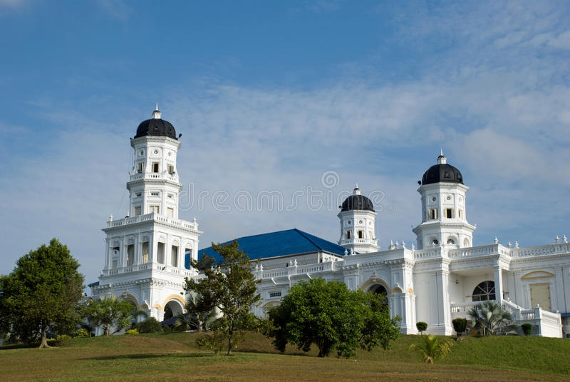 Moslemische Moschee stockbild