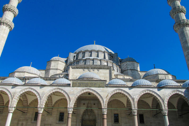 Moslemische Moschee in der Türkei stockbilder