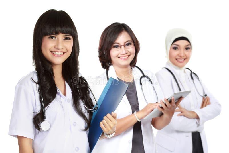 Moslemischer Arzt stockbild