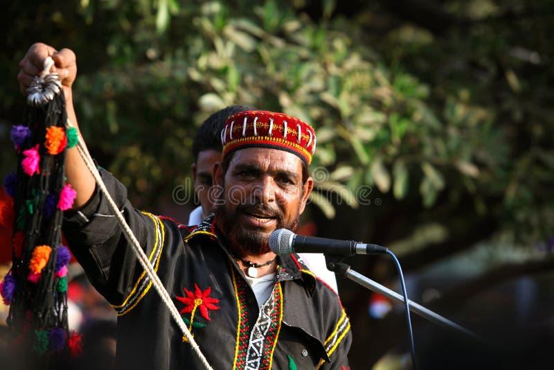 Moslemischer Sänger stockbilder