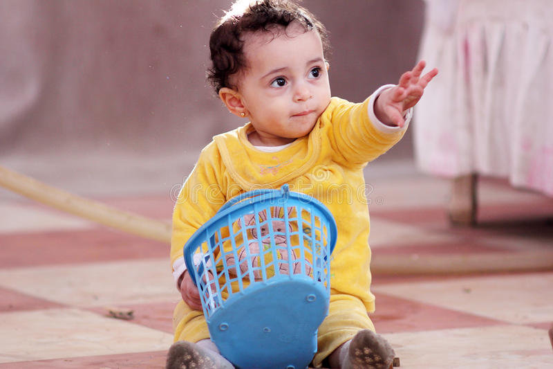 Moslemisches Baby lizenzfreies stockfoto