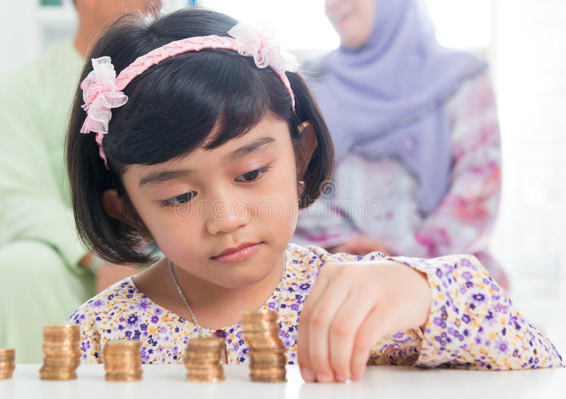 Moslemisches Bankwesenkonzept stockfoto