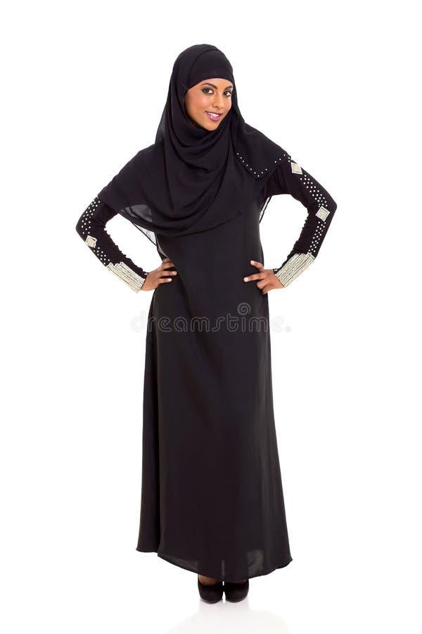 Moslemisches Frauenporträt lizenzfreies stockbild