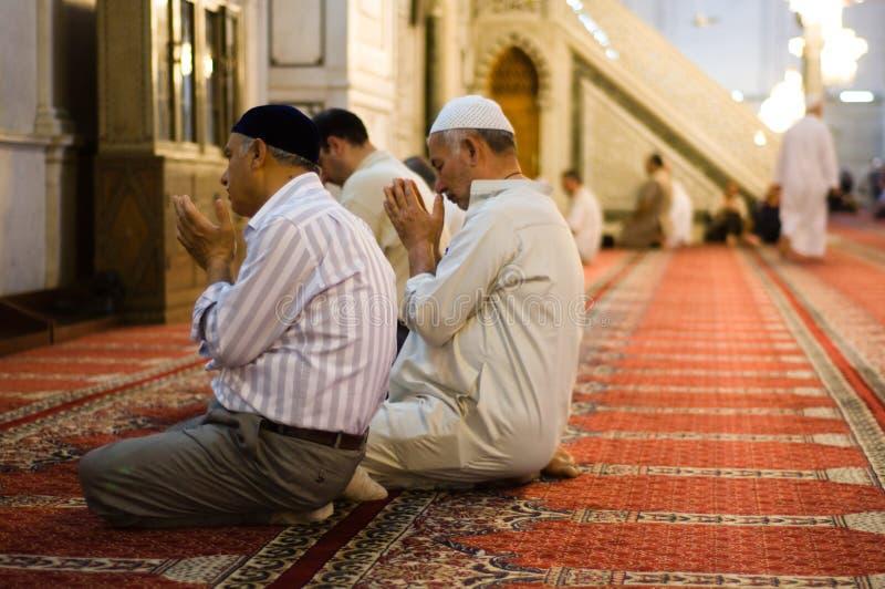 Moslemisches Gebet stockbilder