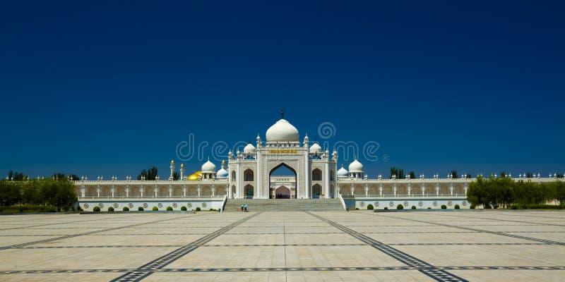 Moslemisches Kirchenporzellan stockfotografie