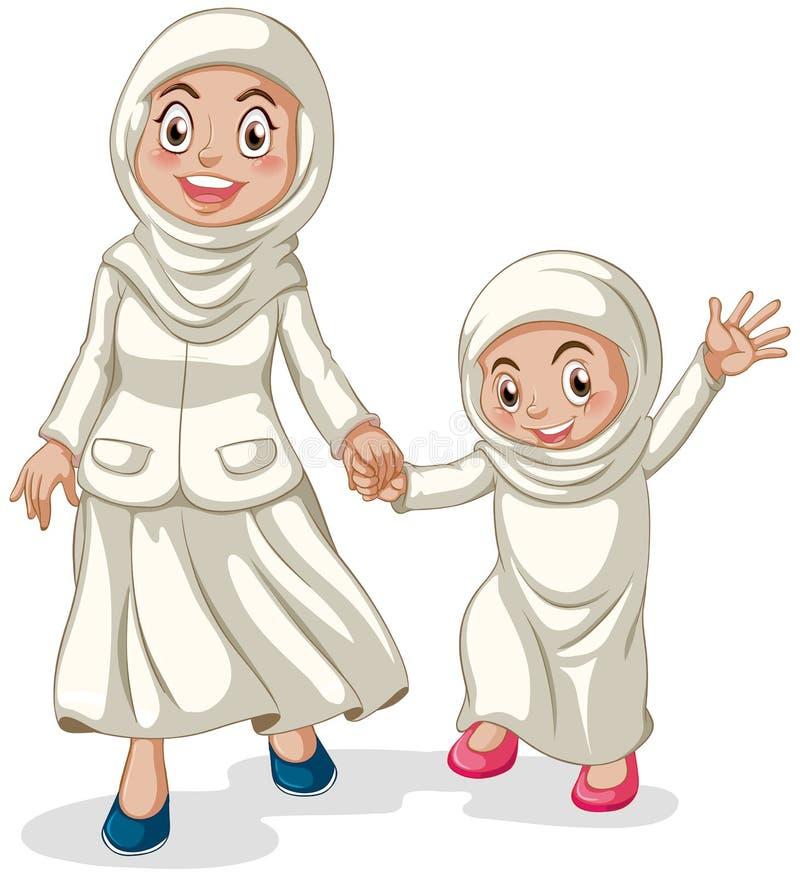 moslems lizenzfreie abbildung