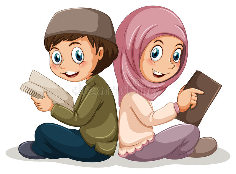 moslems vektor abbildung