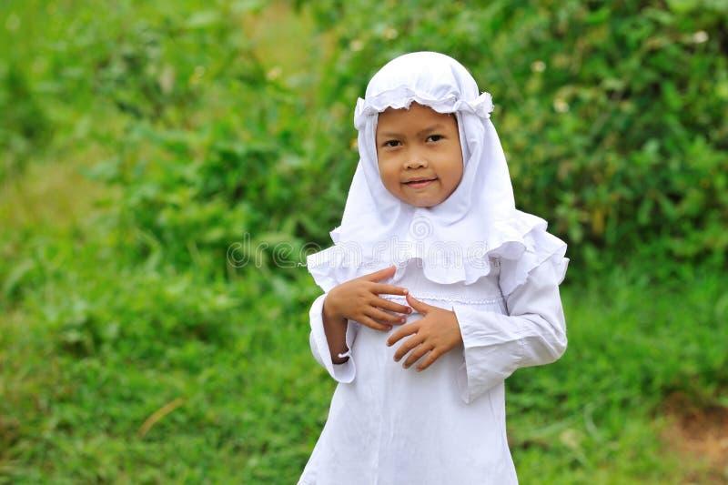Moslim Kind stock foto's