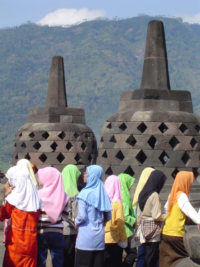 Moslim meisje stock afbeeldingen