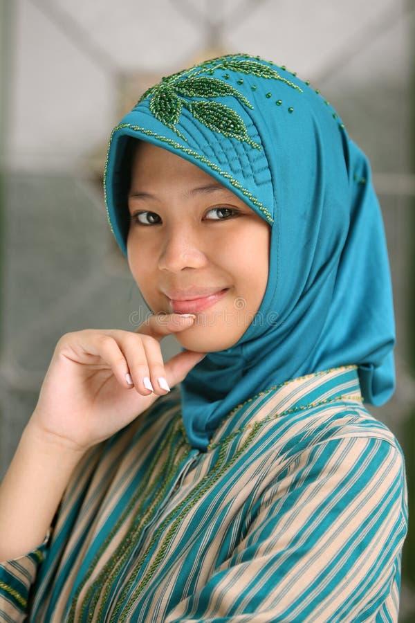 Moslim Meisje royalty-vrije stock afbeelding