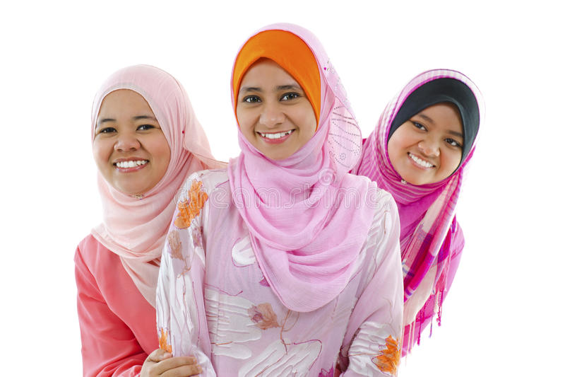Moslim vrouw stock afbeeldingen