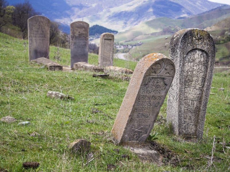 Moslimbegraafplaats stock foto's