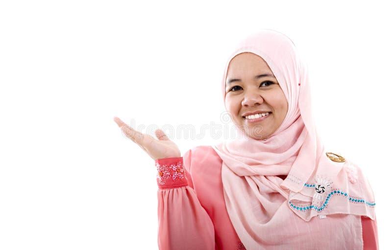Moslimvrouw royalty-vrije stock foto