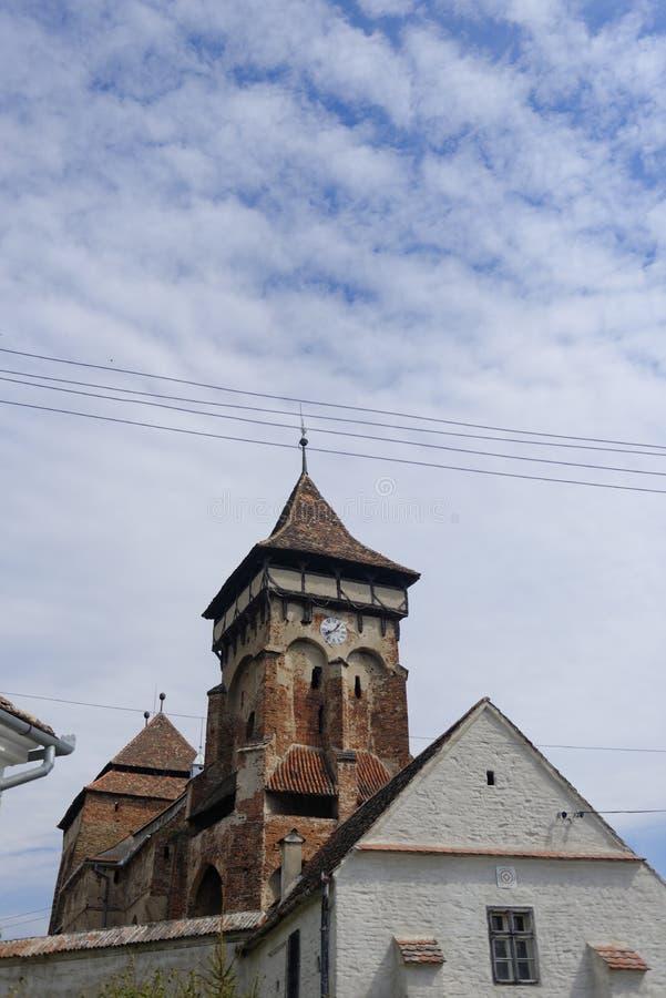Mosna kościół w Transylvania obrazy stock